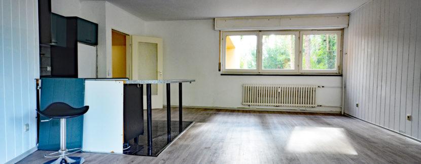 Bezugsfreie Ein-Zimmerwohnung in Lichterfelde Ost